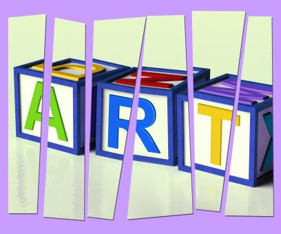 Free Stock Photo of Art Letters Show Inspiration Creativity And Originality