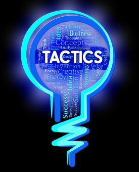 Free Stock Photo of Tactics Lightbulb Represents Strategy Schemes And Approach