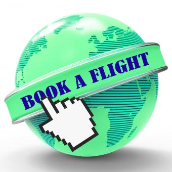 Free Stock Photo of Book Flight Means Travel Aircraft And Reserved