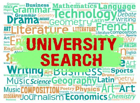Free Stock Photo of University Search Shows Educational Establishment And College