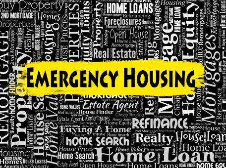 Free Stock Photo of Emergency Housing Means Properties Homes And Residence