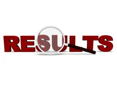 Free Stock Photo of Results Word Shows Scores Result Or Achievements