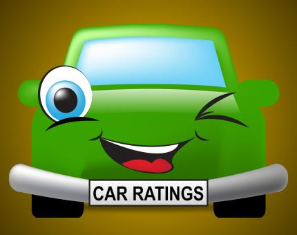 Free Stock Photo of Car Ratings Indicates Transport Appraisal And Classification