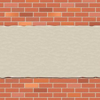 Free Stock Photo of Brick Wall Represents Empty Space And Backdrop