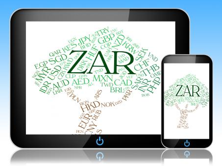 Free Stock Photo of Zar Currency Indicates South African Rands And Currencies