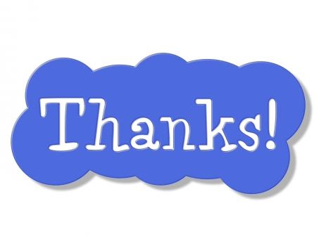Free Stock Photo of Thanks Sign Represents Advertisement Signboard And Placard