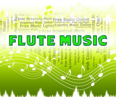 Free Stock Photo of Flute Music Indicates Sound Track And Flautists