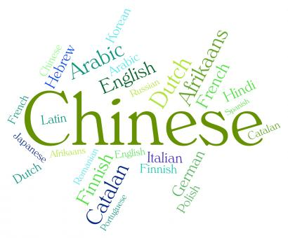 Free Stock Photo of Chinese Language Means Text Communication And Languages