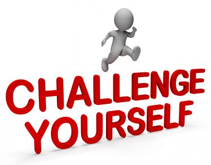 Free Stock Photo of Challenge Yourself Represents Hard Times And Ambition 3d Rendering