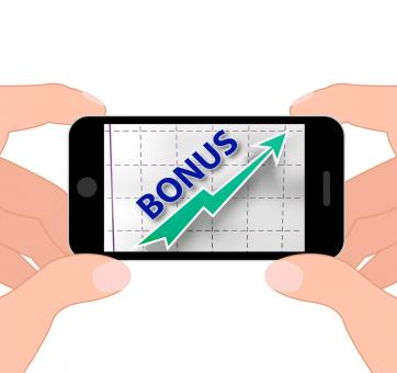 Free Stock Photo of Bonus Graph Displays Higher Premiums And Rewards