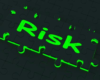 Free Stock Photo of Risk Puzzle Shows Danger And Unsafe