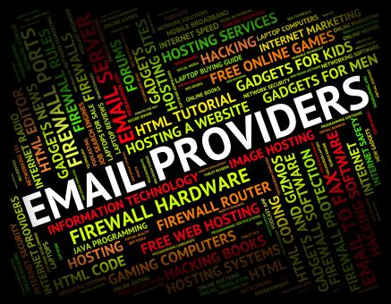 Free Stock Photo of Email Providers Means Send Message And Communication