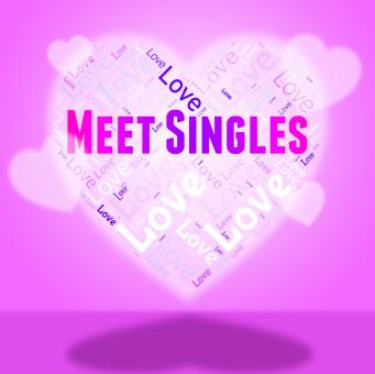 Free Stock Photo of Meet Singles Indicates Search For And Affection