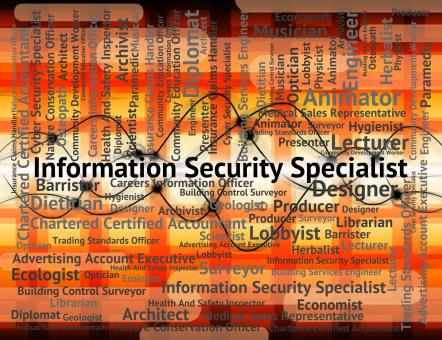 Free Stock Photo of Information Security Specialist Indicates Skilled Person And Occ