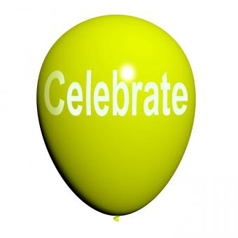 Free Stock Photo of Celebrate Balloon Means Events Parties and Celebrations