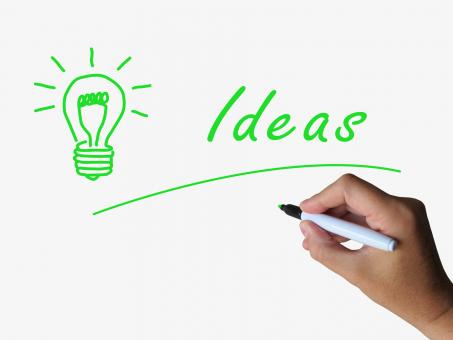 Free Stock Photo of Ideas and Lightbulb Indicate Bright Idea and Concepts