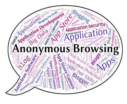Free Stock Photo of Anonymous Browsing Indicates Word Mystery And Unnamed