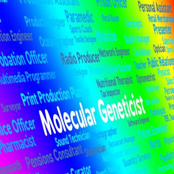 Free Stock Photo of Molecular Geneticist Represents Sub Atomic And Occupation