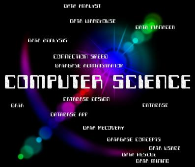 Free Stock Photo of Computer Science Indicates Information Technology And Biology