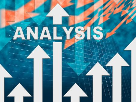 Free Stock Photo of Analysis Graph Shows Data Analytics And Research