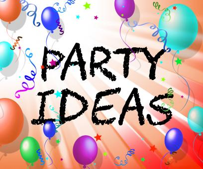 Free Stock Photo of Party Ideas Represents Consider Invention And Contemplations