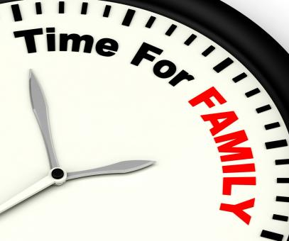 Free Stock Photo of Time for Family Showing Love And Romantic Home