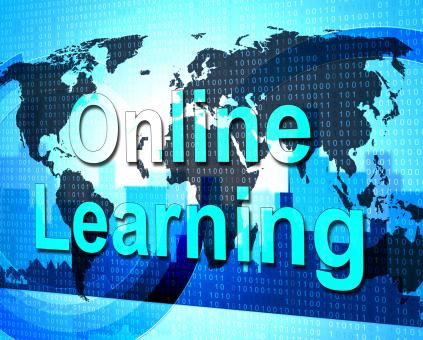 Free Stock Photo of Online Learning Means World Wide Web And College