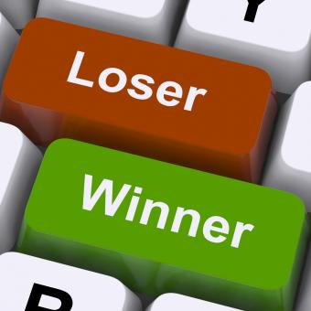 Free Stock Photo of Loser Winner Keys Shows Risk And Chance