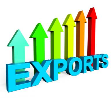 Free Stock Photo of Exports Increasing Shows International Selling And Exportation