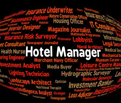 Free Stock Photo of Hotel Manager Shows Place To Stay And Administrator