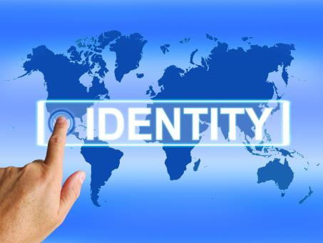 Free Stock Photo of Identity Map Represents Internet or International Identification or Br