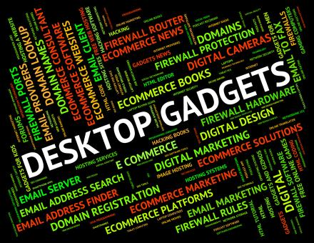 Free Stock Photo of Desktop Gadgets Represents Mod Con And Appliance