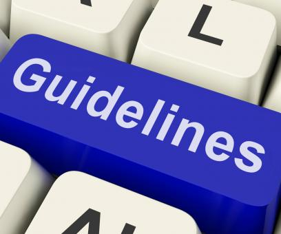 Free Stock Photo of Guidelines Key Shows Guidance Rules Or Policy