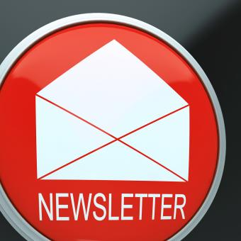 Free Stock Photo of E-mail Newsletter Shows Email Letter Communication