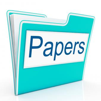 Free Stock Photo of Papers Documents Indicates Archive Filing And Catalog