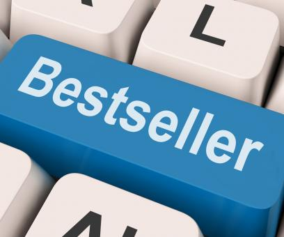 Free Stock Photo of Bestseller Key Shows Best Seller Or Rated