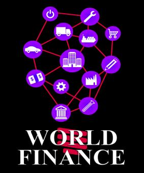Free Stock Photo of World Finance Represents Globalisation Money And Profit