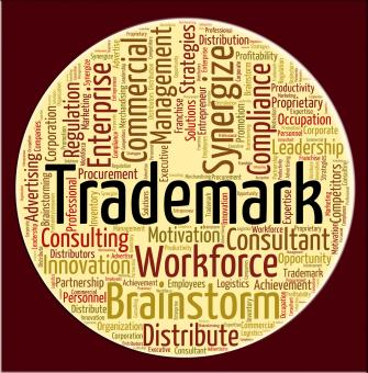 Free Stock Photo of Trademark Word Means Proprietary Name And Emblem