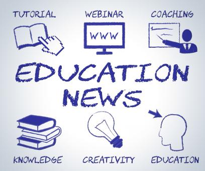 Free Stock Photo of Education News Means Social Media And Article