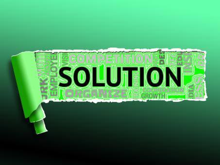 Free Stock Photo of Solution Icons Represent Solving Successful And Resolution
