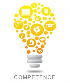 Free Stock Photo of Competence Lightbulb Indicates Mastery Glowing And Glow