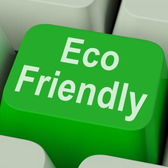 Free Stock Photo of Eco Friendly Key Shows Green And Environmentally Efficient