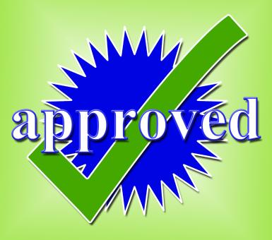 Free Stock Photo of Approved Tick Indicates Approval Checkmark And Confirmed