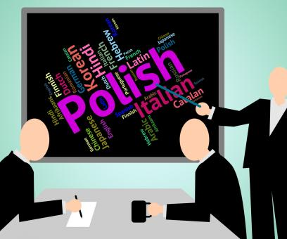 Free Stock Photo of Polish Language Means Translate Lingo And Poland