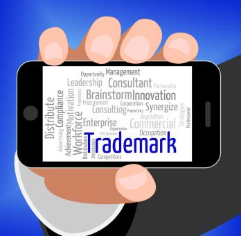 Free Stock Photo of Trademark Word Shows Proprietary Name And Hallmark