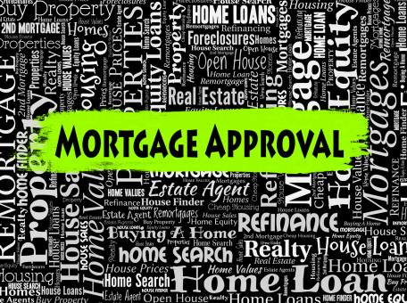 Free Stock Photo of Mortgage Approval Means Home Loan And Approve