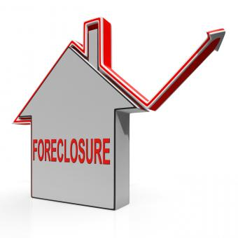 Free Stock Photo of Foreclosure House Shows Lender Repossessing And Selling