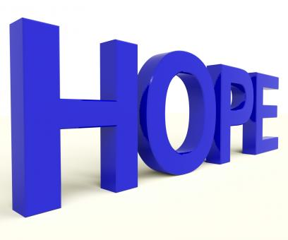 Free Stock Photo of Hope Word As Sign Of Wishing And Hoping