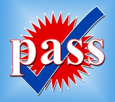 Free Stock Photo of Pass Tick Means Ok Passed And Confirmed