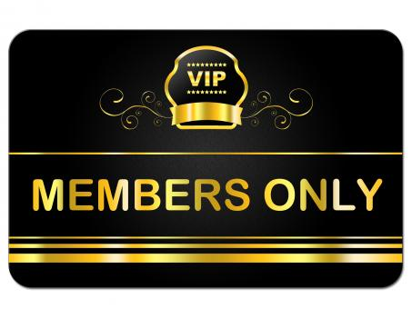 Free Stock Photo of Membership Card Shows Very Important Person And Celebrity